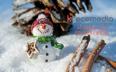 krecemedia os desea Felices Fiestas