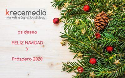 Feliz Navidad y prospero 2020